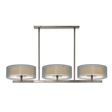 Sonneman 6001.13 - 3-Light Bar Pendant