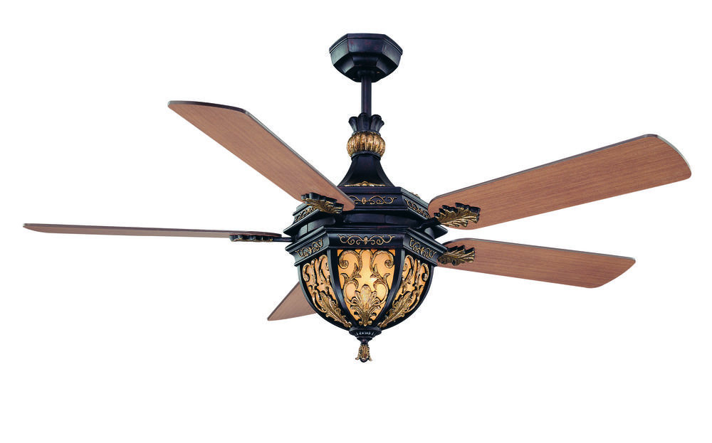 Three Light Distressed Bronze Ceiling Fan : 54-895-MO-59 | Premier ...