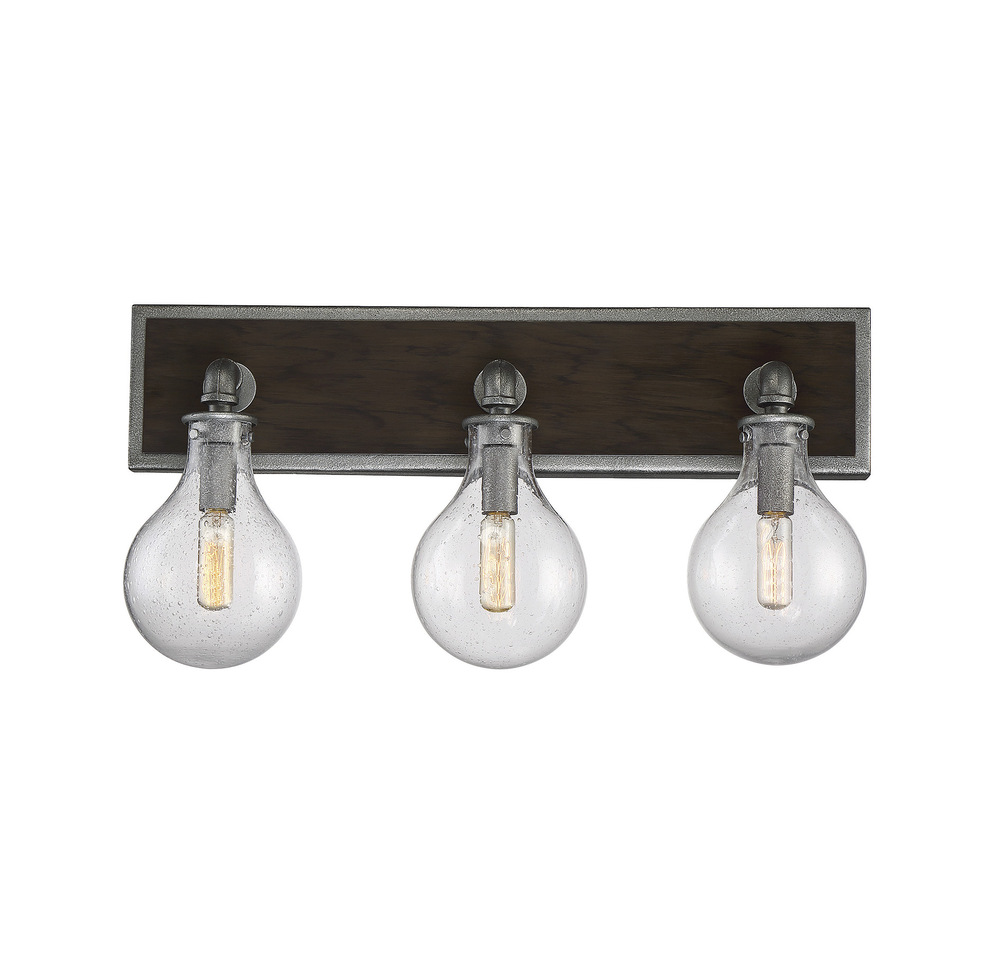 Dansk 3 Light Bath Bar