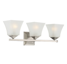 Savoy House 8-2098-3-SN - Castel 3 Light Bath Bar
