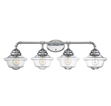 Savoy House 8-393-4-11 - Fairfield 4 Light Bath Bar