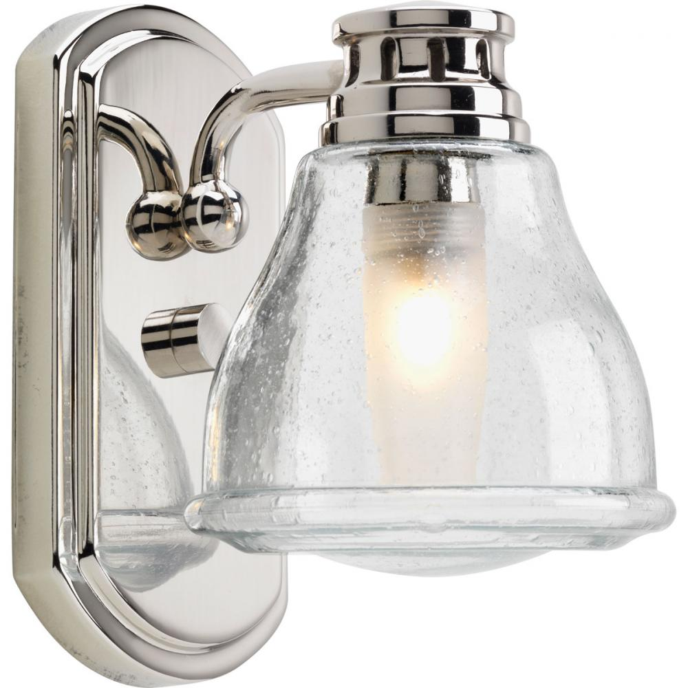 1 Lt. Polished Chrome Bath Light