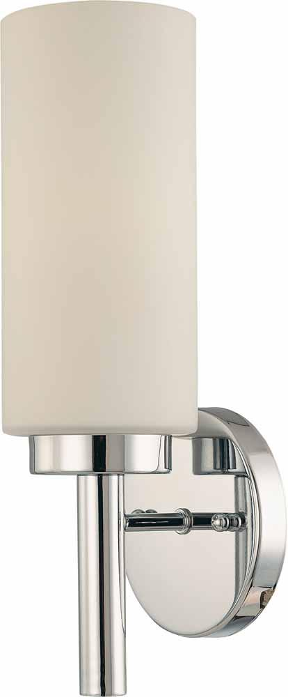 1-light Chrome Wall Sconce