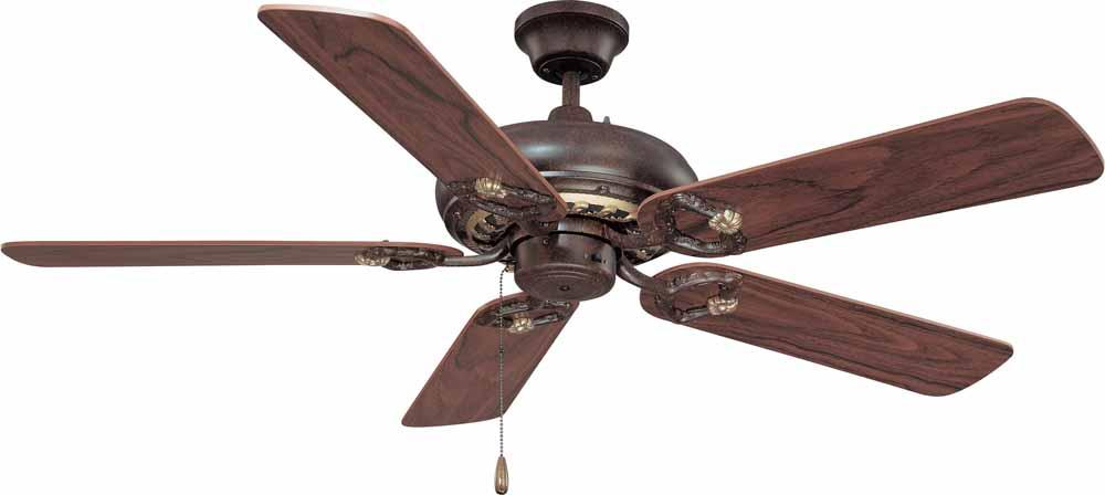 Bristol Vintage Bronze with Antique Gold Ceiling Fan