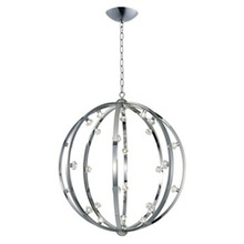 Maxim 39108BCPN - Equinox LED-Single Pendant