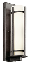 Kichler 49122AVIFL - Outdoor Wall 3Lt Fluorescent