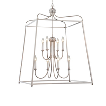 Crystorama 2248-PN_NOSHADE - Libby Langdon for Crystorama Sylvan 8 Light Polished Nickel Chandelier