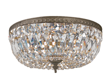 Crystorama 712-EB-CL-I - Crystorama 3 Light Bronze Clear Italian Ceiling Mount