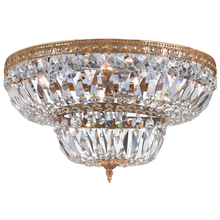 Crystorama 736-OB-CL-MWP - Crystorama 14 Light Hand Cut Crystal Ceiling Mount
