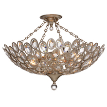 Crystorama 7587-DT_CEILING - Crystorama Sterling 5 Light Distressed Twilight Ceiling Mount
