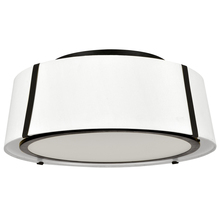 Crystorama FUL-905-BK - Fulton 3 Light Matte Black Ceiling Mount