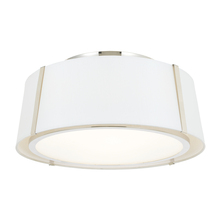 Crystorama FUL-905-PN - Fulton 3 Light Polished Nickel Ceiling Mount
