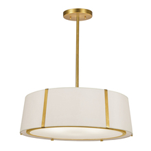 Crystorama FUL-907-GA - Fulton 6 Light Gold Chandelier