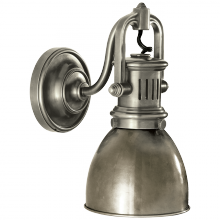 Visual Comfort SL 2975AN-AN - Yoke Suspended Sconce in Antique Nickel with Ant