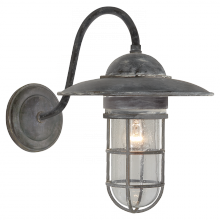 Visual Comfort SLO 2003WZ-SG - Marine Medium Wall Light in Weathered Zinc with