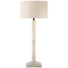 Visual Comfort TOB 3362ALB-NP - Michelangelo Buffet Lamp in Alabaster with Natur
