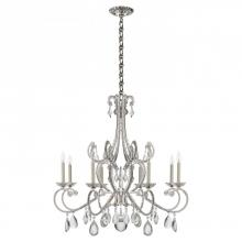 Visual Comfort ARN 5110PN-CG - Montmartre Chandelier in Polished Nickel with Cr