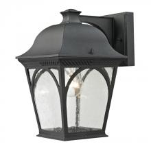 Elk Cornerstone 8301EW/65 - Cape Ann 1 Light Outdoor Coach Lantern In Matte