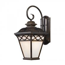 Elk Cornerstone 8561EW/70 - Mendham 1 Light Coach Lantern  In Hazelnut Bronz