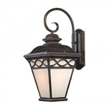 Elk Cornerstone 8571EW/70 - Mendham 1 Light Coach Lantern  In Hazelnut Bronz
