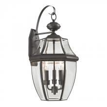 Elk Cornerstone 8603EW/75 - Ashford 3 Light Exterior Coach Lantern In Oil Ru