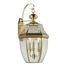 Elk Cornerstone 8603EW/85 - Ashford 3 Light Exterior Coach Lantern In Antiqu