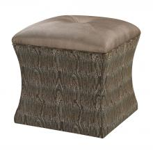 Sterling Industries 139-011 - Luxe Ottoman In Green