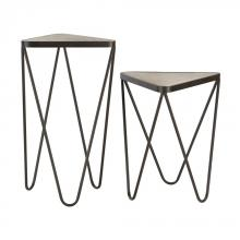Sterling Industries 51-002/S2 - Angular Side Tables - Set of 2
