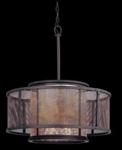 Troy F3105 - COPPER MOUNTAIN 6LT PENDANT DINING