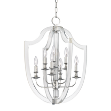 Hudson Valley 6520-PN - 8 Light Pendant