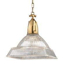 Hudson Valley 7114-AGB - 1 Light Large Pendant