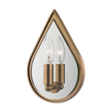 Hudson Valley 9900-AGB - 1 Light Wall Sconce