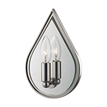 Hudson Valley 9900-PN - 1 Light Wall Sconce