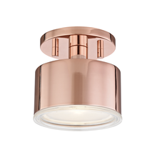 Mitzi by Hudson Valley Lighting H159601-POC - 1 Light Flush Mount