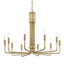 Mitzi by Hudson Valley Lighting H261810-AGB - 10 Light Large Pendant