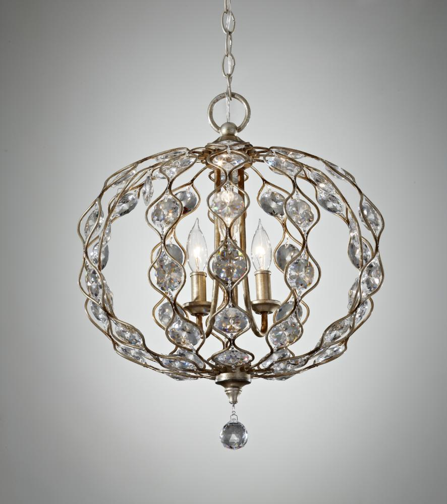 3- Light Chandelier