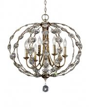 Feiss F2740/6BUS - 6- Light Chandelier