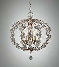 Feiss F2741/3BUS - 3- Light Chandelier