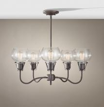 Feiss F2824/5RI - 5 - Light Chandelier