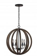 Feiss F2935/4WOW/AF - 4 - Light Pendant fixture