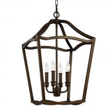 Feiss F2975/4PAGB - 4 - Light Foyer