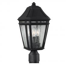 Generation Lighting - Feiss OL11307BK - 3 - Light Outdoor Post