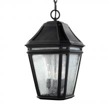 Generation Lighting - Feiss OL11311BK - 3 - Light Outdoor Pendant