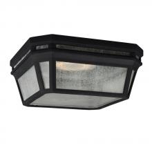 Feiss OL11313BK-LED - LED Outdoor Flush