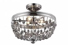 Feiss SF312PN - 3 - Light Malia Semi Flush Mount