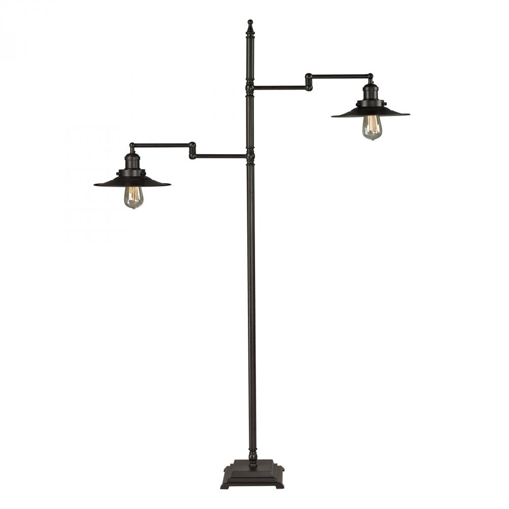 New Holland Restoration Floor Lamp in Oil Rubbed Bronze