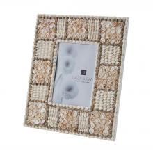 Dimond 163-012 - Natural Shell Mosaic 5x7 Frame