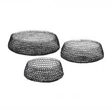 Dimond 3200-001/S3 - Welded Ring Bowls - Set of 3