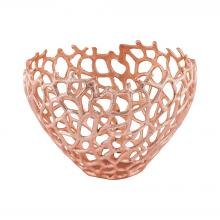 Dimond 8990-032 - Eissee 10-Inch Bowl In Copper
