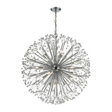 ELK Lighting 11547/19 - Starburst 19 Light Chandelier In Polished Chrome